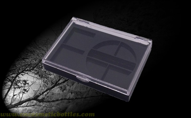 Tom rectangle plastic compact-No.1002